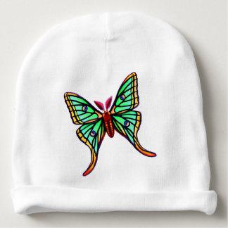 Green Spanish Moon Moth Baby Hat