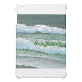 Green Sparkly Waves - CricketDiane Ocean Art iPad Mini Case