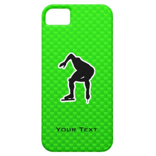 Green Speed Skater iPhone 5 Cover