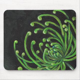 Green Spider Mum Mousepad