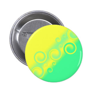 green spiral Button