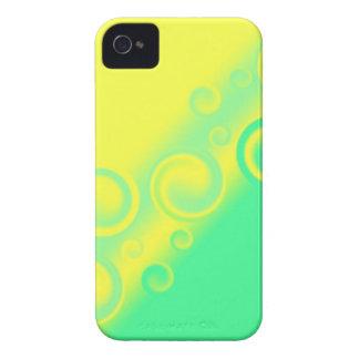 green spiral Case-Mate Case