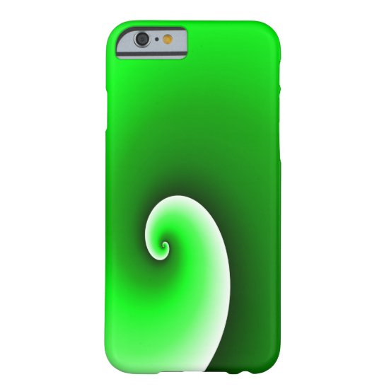 Green Spiral Gradient Barely There iPhone 6 Case