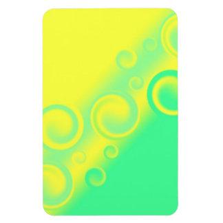 green spiral Premium Flexi Magnet