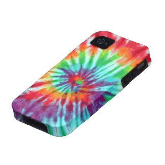 Green Spiral Tie-Dye Casemate iPhone 4 iPhone 4 Cases