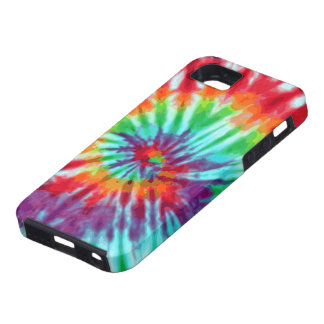Green Spiral Tie-Dye Casemate iPhone 5 iPhone SE/5/5s Case