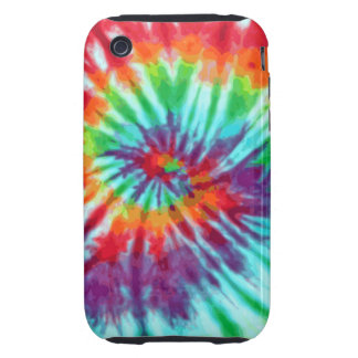Green Spiral Tie-Dye iPhone 3 Tough iPhone 3 Case