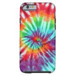 Green Spiral Tie-Dye iPhone 6 case