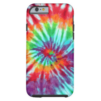 Green Spiral Tie-Dye iPhone 6 case