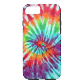 Green Spiral Tie-Dye iPhone 7 case
