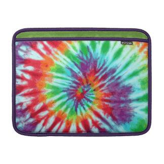 Green Spiral Tie-Dye MacBook Air Sleeve