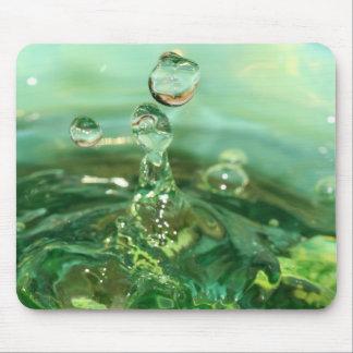 Green Splash Mousepad