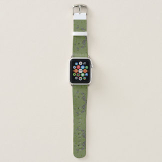 Green Splash of Camo Apple Watch Band
