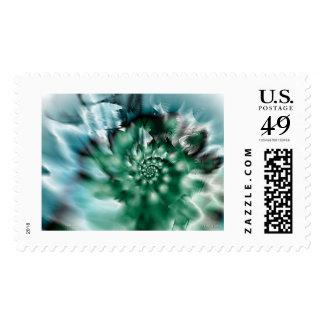 green splash postage stamps