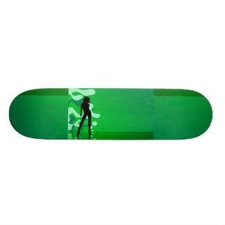 Green Splash Skateboard