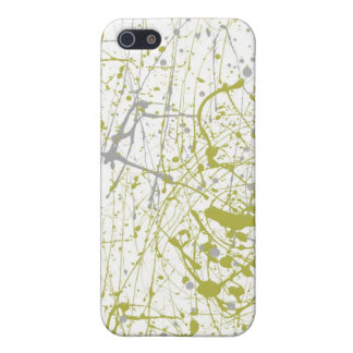 green splatter cover for iPhone 5