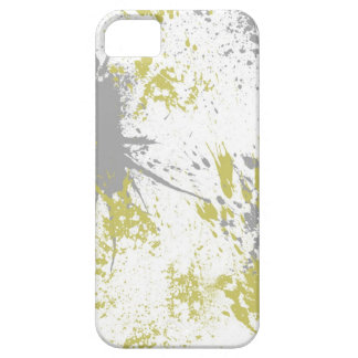 green splatter iPhone SE/5/5s case