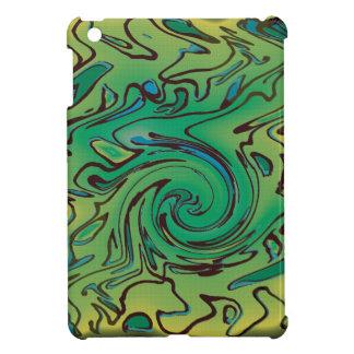 Green splurge iPad mini cases