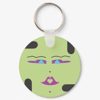 Green Sponap, Innili.ai keychain
