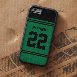 Green Sport Jersey Number iPhone 6 Tough Xtreme iPhone 6 Case