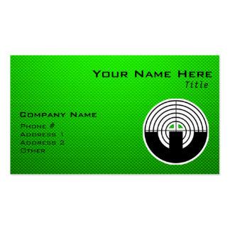 Green Sport Shooting Business Card