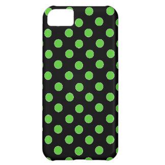 Green Spot Polka Dot iPhone 5C Case