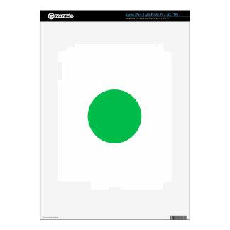 Green Spot iPad 3 Decal