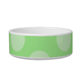 Green Spotty Pattern. Bowl
