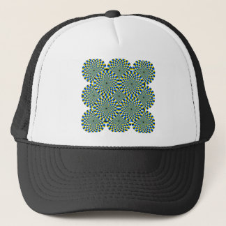 Green Sprials Trucker Hat