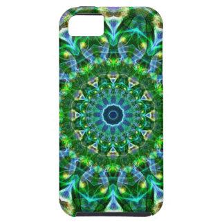 Green Spring Kaleidoscope iPhone SE/5/5s Case
