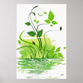 Green Spring Poster