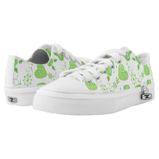 Green Spring Printed Shoes