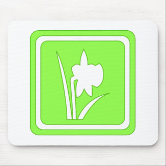 Green Spring Sign Mousepads