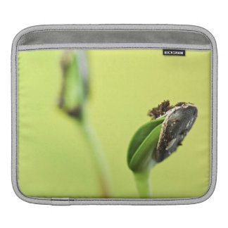 Green sprouts sleeve for iPads