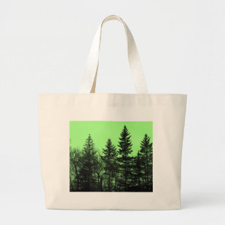 Green Spruce Large Tote Bag
