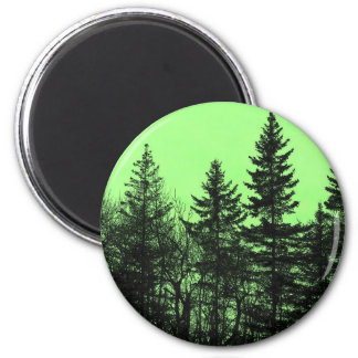 Green Spruce Magnet