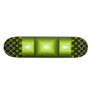 Green Square Bump Skateboard CricketDiane Design