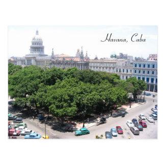 green square capitolio postcard