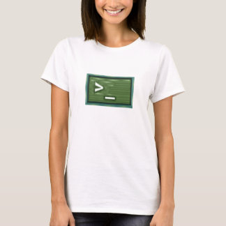 Green Square of Power T-Shirt
