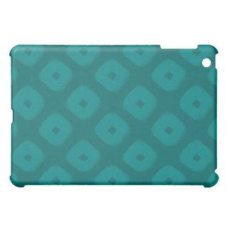 Green Squares iPad Case