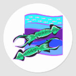 Green Squids Sticker