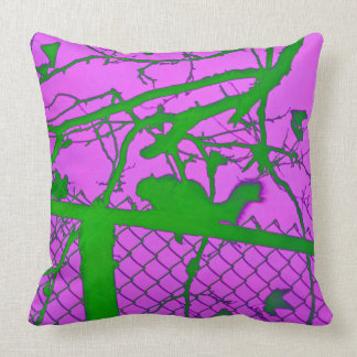 GREEN SQUIRREL throw pillow