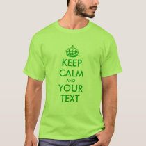 Green St patricks Day t shirt | Keep calm and ...