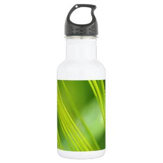green stalks water bottle
