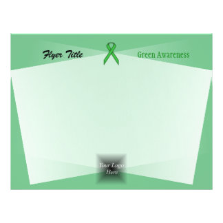 Green Standard Ribbon by Kenneth Yoncich Flyer