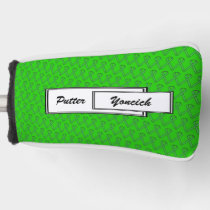 Green Standard Ribbon by Kenneth Yoncich Golf Head Cover