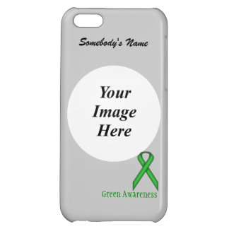 Green Standard Ribbon by Kenneth Yoncich iPhone 5C Cover