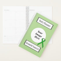 Green Standard Ribbon by Kenneth Yoncich Planner