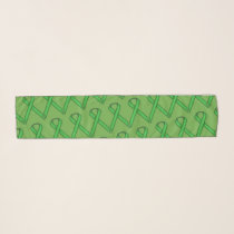 Green Standard Ribbon by Kenneth Yoncich Scarf