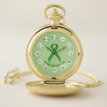 Green Standard Ribbon (CHN/JPf) by K Yoncich Pocket Watch